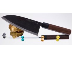 Поварской нож Takeda Hocho NAS Deba, 180 мм.