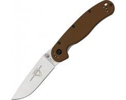 Складной нож Ontario RAT 2 8860CB Coyote Brown, 76 мм