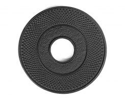 Чугунная подставка под чайник IWACHU 17001, 10 см. круг, цвет черный
