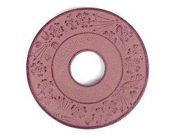 Чугунная подставка под чайник IWACHU 17003, 10 см. круг, цвет коричневый