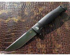 Складной нож Reptilian Джага-03 черный