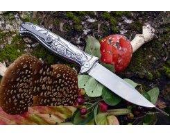Складной нож Reptilian Финка-кастом, HH4, 11,2 см.
