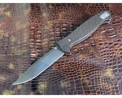 Складной нож Reptilian HP carbon serebro (нож разведчика)