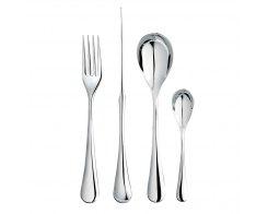 Набор столовых приборов на 6 персон, 24 предмета, Robert Welch ASHBR1099V/24, сталь 18/10.