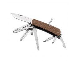 Складной нож Ruike L51-N коричневый