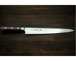 Нож филейный Sakai Takayuki Damascus Hammered 07397 Sujihiki 240 мм.
