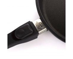 Сковорода глубокая AMT I-724, d 24 см, h 7 см, для индукционных плит