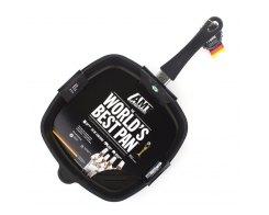 Сковорода гриль AMT E285G FIX, 28х28 см, h 5см.