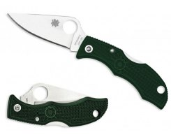 Складной нож Spyderco Ladybug 3 LGREP3 British Racing Green