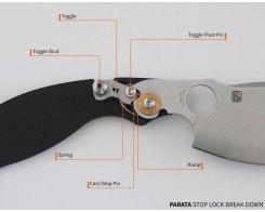 Складной нож Spyderco Parata C231GP