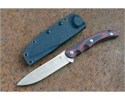 Туристический нож Steelclaw Бастион bastion red-black