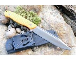 Нож для охоты Steelclaw Базальт orange