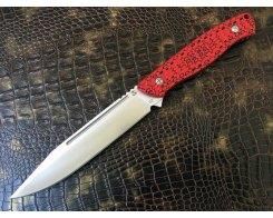 Нож для охоты Steelclaw Базальт red-black