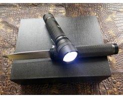 Туристический нож фонарь Steelclaw Спелеолог FLK01