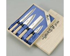 Набор из четырёх ножей Tojiro FC-125 Ryuutoku-saku