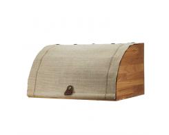 Хлебница с парусиновой крышкой Woodinhome BB003ON