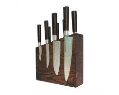 Подставка для ножей магнитная Woodinhome KS004SOB 26х24х7,5 см.