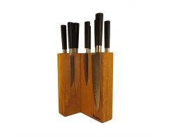 Настольная подставка для ножей Woodinhome KS009SON 17,5х24х12,5 см.