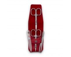 Набор маникюрный 4 предмета в кожаном футляре Wuesthof Manicure sets 9127-2