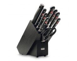 Набор ножей 9 предметов в подставке Wuesthof 9844 Classic