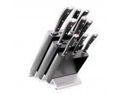 Набор кухонных ножей 9 шт. на деревянной подставке Wuesthof Classic Ikon 9873